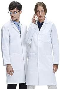 Bata de Laboratorio Dr. James Unisex, Corte Clásico, Bolsillos ...