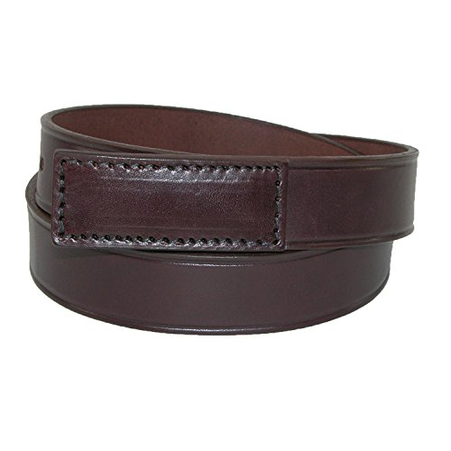 - Boston Leather Men's Leather Movers & Mechanics No Scratch Work Belt, Xlarge (46-50), Brown