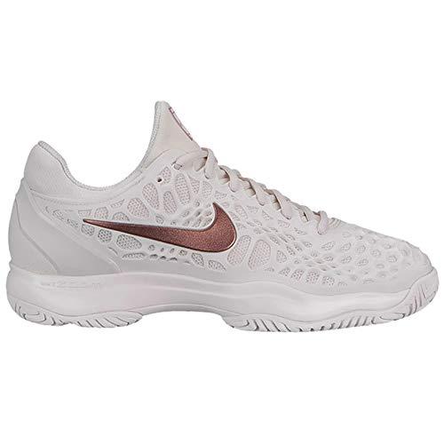 Nike Women's Zoom Cage 3 HC Phantom/Metallic Rose Gold/Rose Gold 9.5 B US (Nike Shoes Air Cage Court)
