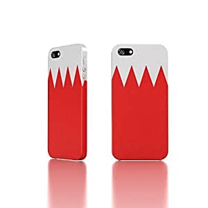 Apple iPhone 5 / 5S Case - The Best 3D Full Wrap iPhone Case - Bahrain Flag