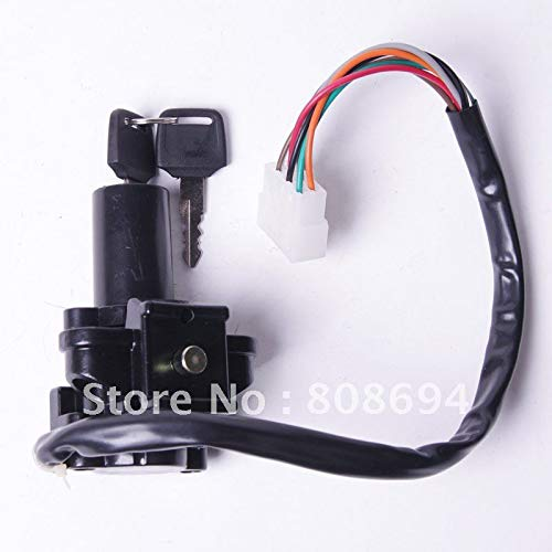 - Star-Trade-Inc - Motorcycle Scooter Ignition Switch & Lock with key for KAWASAKI ZX-7 KEY ZX900 ZX-9R