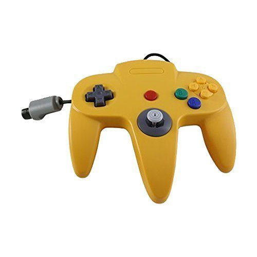 N64 Wired Classic Controller - Yellow (N64 Controller)