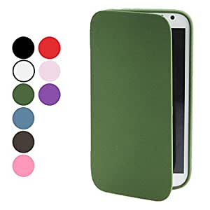 Elegant Design TPU Full Body Case for Samsung Galaxy Note 2 N7100 (Assorted Colors) --- COLOR:Black