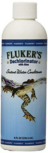 Fluker Labs SFK42000 Reptile Aloe Dechlorinator, 8 oz by Fluker Labs