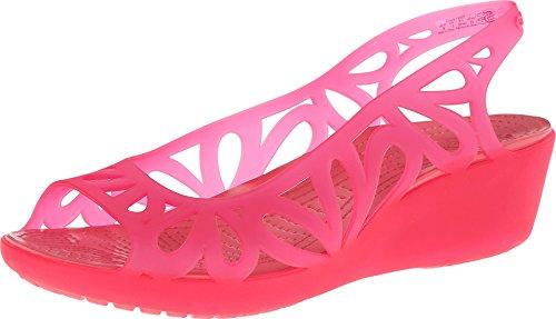 38d6828a46f1 crocs Women s 14937 Adrina III Mini Wedge Sandal