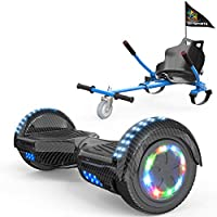 COLORWAY Overboard Hover Scooter Board Gyropode Bluetooth SUV 6.5 Pouces, Scooter Electrique Moteur 700W Tout-Terrain,...