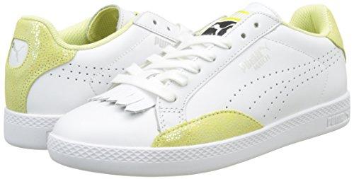 Reset puma Yellow Basse Match White Puma Bianco Scarpe soft 03 Donna Da Wn's Lo Fluo Ginnastica 1ASSBvCn