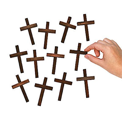 - Small Wooden Crucifix Crosses
