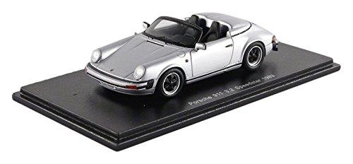 Spark – S4470 – Porsche 911 3.2l Speedster – 1989 – 1/43 – Silber