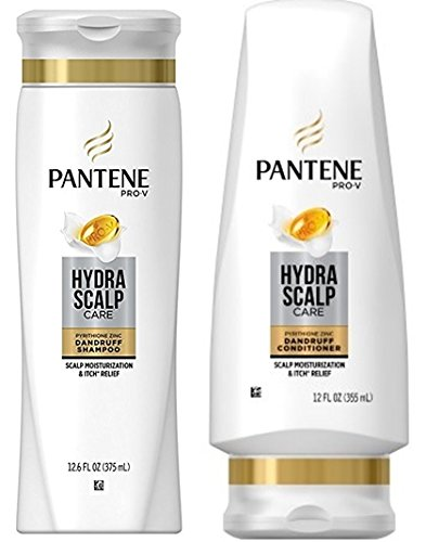 Pantene Pro-V Hydra Scalp Care Dandruff Shampoo (12.6 oz) and Conditioner (12 oz) Set