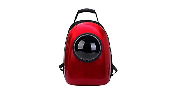 Amazon.com: Dixinla Pet Carrier Backpack Pet Space Bag Cat backpack out sneak cat pocket bag Space pet cabin bag double shoulder backpack cat dog cage PVC ...