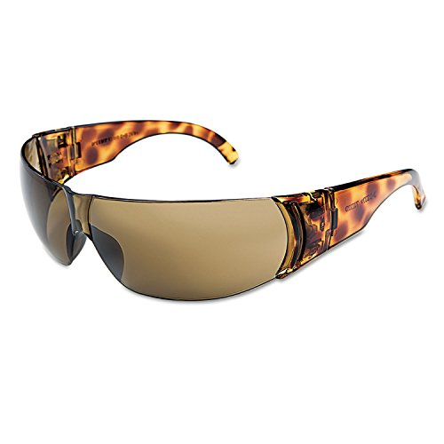 Sperian W301 Small Women Fashion Safety Glasses Tortoise Frame Expresso Lens, 1 Pair by Uvex