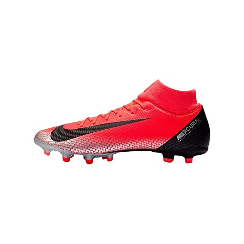 (Nike Superfly 6 Academy (MG) Men's Multi-Ground Soccer Cleats (12 M US, Teal/Black/CR7))