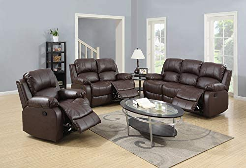 Lifestyle Furniture 3-Pieces Reclining Living...