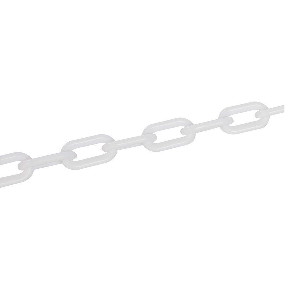 Fixman 568185 White Plastic Barrier Chain 6mm x 5m