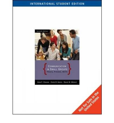 Download [(Communication in Small Groups)] [Author: John Cragan] published on (October, 2008) pdf epub