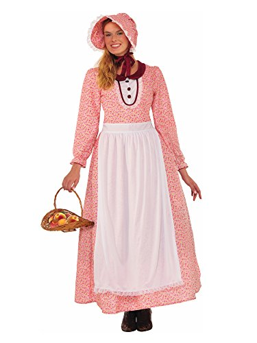 (Forum Novelties Women's Pioneer Woman Costume, Multi-Color, One Size)