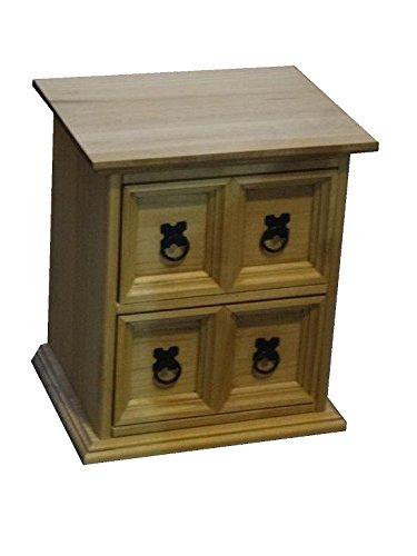 Beige Scaffale Porta CD Antik gebeizt und gewachst mercers Furniture