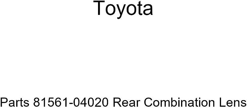 Genuine Toyota Parts 81561-04020 Rear Combination Lens