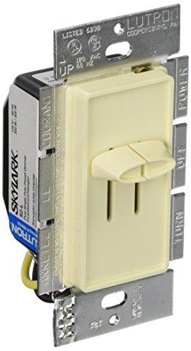 Lutron Electronics Co. S2-L-AL Skylark 300-Watt Dual Dimmer, Almond -