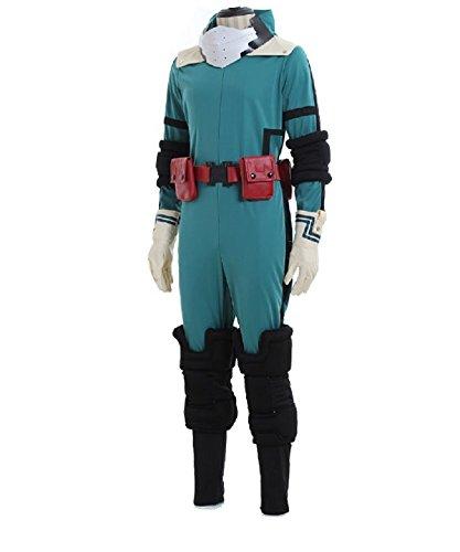 My Hero Academia Midoriya Izuku Jumpsuit Cosplay Costume Outfit Unisex Battle Suit Uniforms Halloween