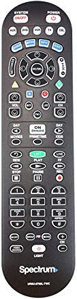 (Spectrum TV Remote Control 3 Types to Choose FromBackwards Compatible with Time Warner, Brighthouse and Charter Cable Boxes (Pack of Two, UR5U-8780L))