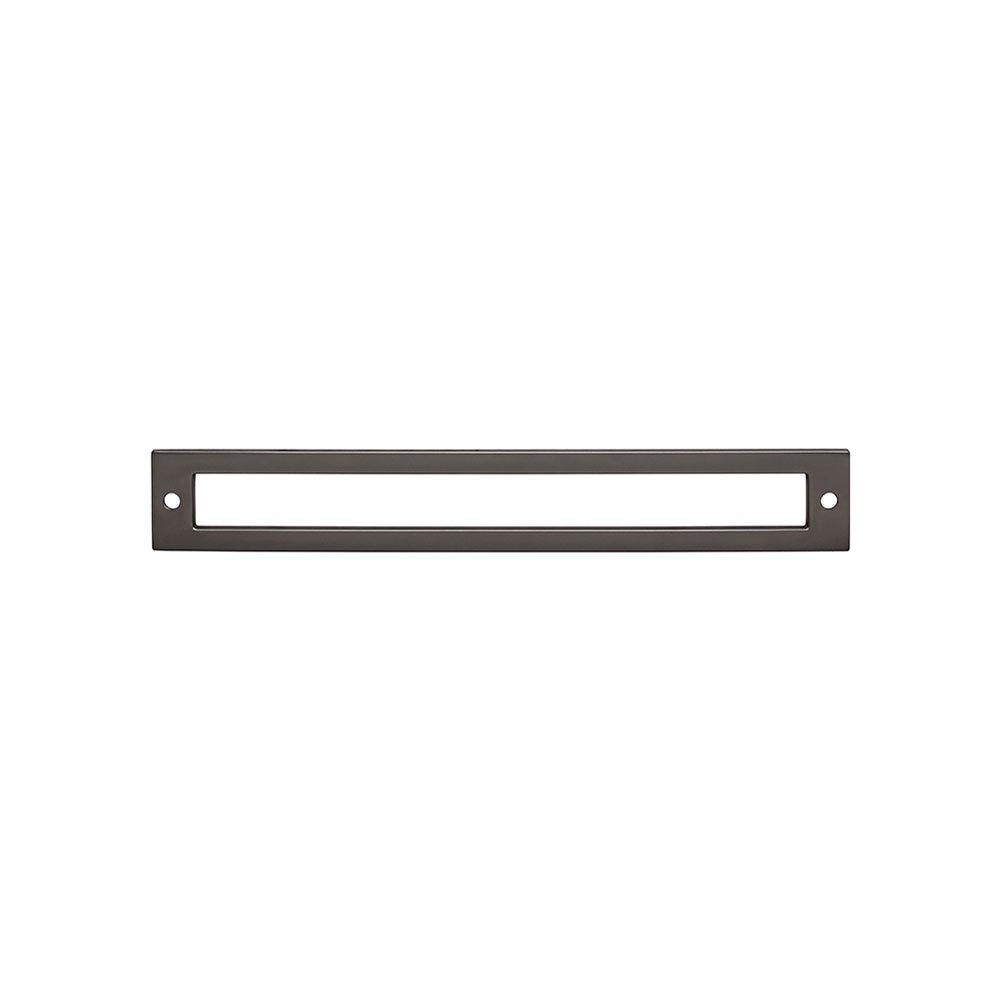 Hollin Backplate TK927BLK Lynwood Collection Flat Black Top Knobs