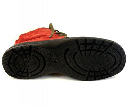 Naot , Chaussures bateau pour femme Marron Terracotta