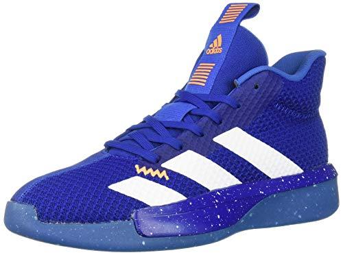 adidas Men's Pro Next 2019 Basketball Shoe, Collegiate Royal/White/Blue, 11 M US (Shoes Basketball Men)