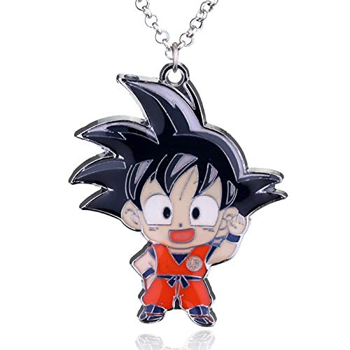Amazon.com : Chain Necklaces - Anime Dragon Ball Keychain ...
