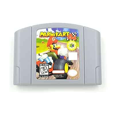 Amazon.com: Nuevo para Nintendo 64 N64 tarjeta de juego ...