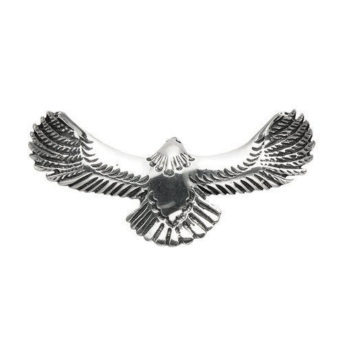 Wild Things Sterling Silver Eagle in Flight Pin