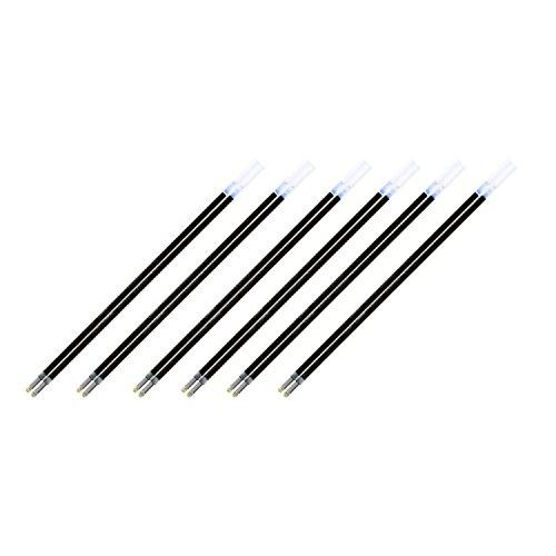 Pentel Refill for R.S.V.P., Razzle-Dazzle, Moonz, Cubix Ballpoint Pens, Fine Point, Black Ink, Pack of 12
