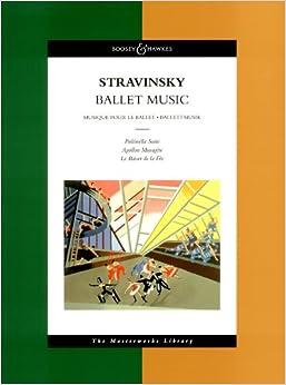 ストラヴィンスキー: バレエ音楽作品集/ブージー & ホークス社/大型スコア