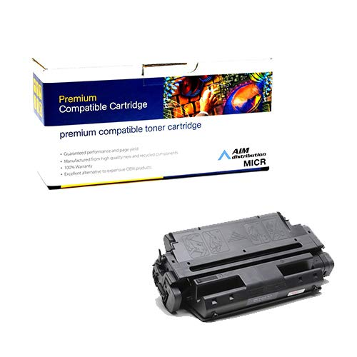 AIM Compatible MICR Replacement for Image Excellence CTGI2401M MICR Toner Cartridge (10000 Page Yield) - Compatible to IBM 63H2401 - Generic
