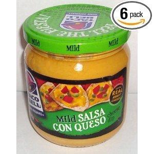 Kraft Taco Bell Mild Salsa Con Queso, 15 Ounce -- 12 per case.