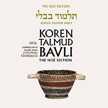 Koren Talmud Bavli Vol. 20: Sota, English, Daf Yomi (Hebrew Edition) Audiobook by Adin Steinsaltz Narrated by Shlomo Zacks