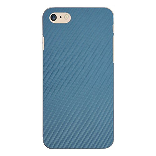 "Disagu Design Case Coque pour Apple iPhone 7 Housse etui coque pochette ""Blue Carbon Look"""