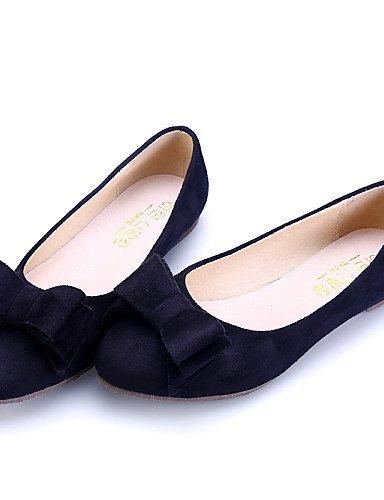 vestido zapatos Toe eu39 talón uk6 de PDX azul cerrado Flats ante señaló negro casual Burgundy Toe de black cn39 mujer us8 plano comodidad rosa zw5wSOxq