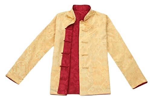Vestiti Cinesi Cotone Vestiti Dei Hanfu A 1 Maniche Ttyllmao Giacca Lunghe Tradizionali Uomo vPwcYF
