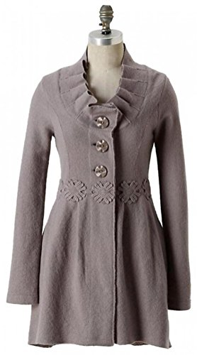 Anthropologie Alice in Autumn Sweater Coat By Charlie & Robin - Grey - NWOT(M) from Anthropologie