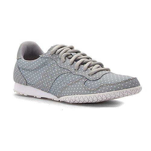 Saucony Originals Women's Bullet Dots Fashion Sneakers, Light Grey, 9 M (Saucony Originals Bullet)