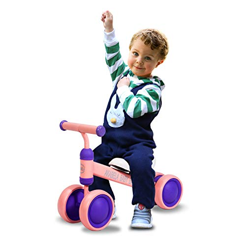 AKABELA Baby Balance Bike Bicycle Children Walker Toys Gifts Rides for 1 2 3 Year Old Boys Girls 6-24 Months Baby's No Pedal Infant First Bike First Birthday New Year Gift 1 2 3 Year Old Toys (Best Bikes For Toddlers 2019)