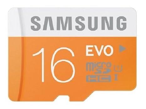 Samsung Evo Class 10 16gb Microsdhc 48 Mb S Memory Card With Sd