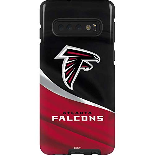 Skinit Atlanta Falcons Galaxy S10 Pro Case - Officially Licensed NFL Phone Case Pro, Scratch Resistant Galaxy S10 Cover ()