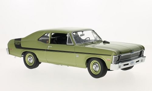1970 Chevrolet Nova Yenko Deuce Citrus Green Limited Edition to 600pcs 1/18 by GMP 18831