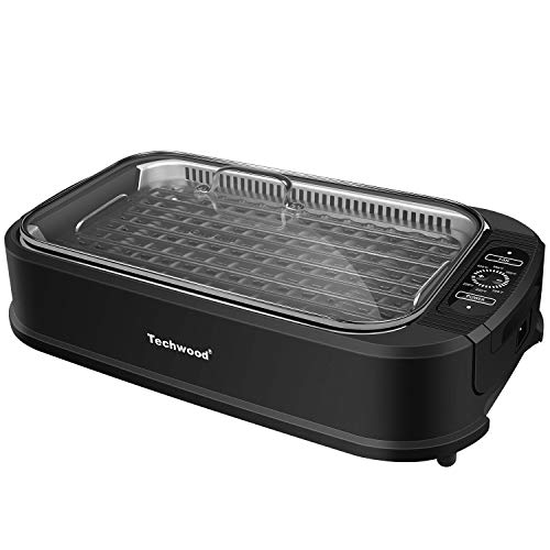 Techwood Indoor Smokeless Grill