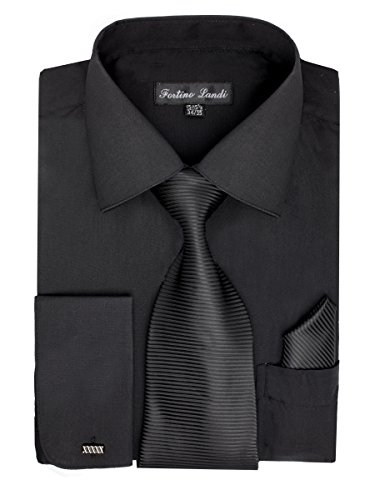 dress shirts with black suits - 8