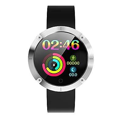 Festnight OUKITEL Smart Watch Sports Running Wristband Heart Rate Monitoring Pedometer Remote Camera Blood Pressure Sports Bracelet Estimated Price £29.99 -