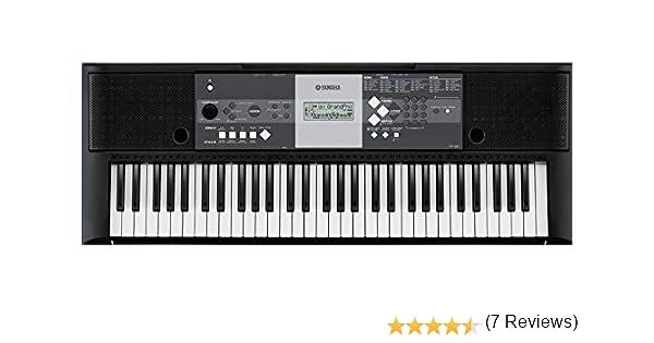 Yamaha YPT-230 - Teclado portátil, color negro: Amazon.es: Instrumentos musicales